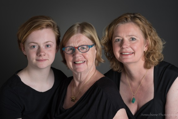Three generation portrait